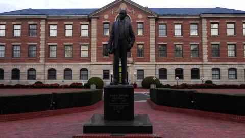 NCCU_James_E._Shepard_statue